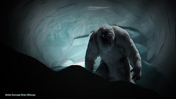 The Abominable Snowman - Matterhorn Bobsled ride